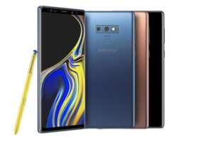 Galaxy Note 9 - top baterie