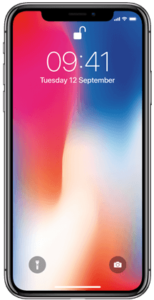 iPhone X - top baterie