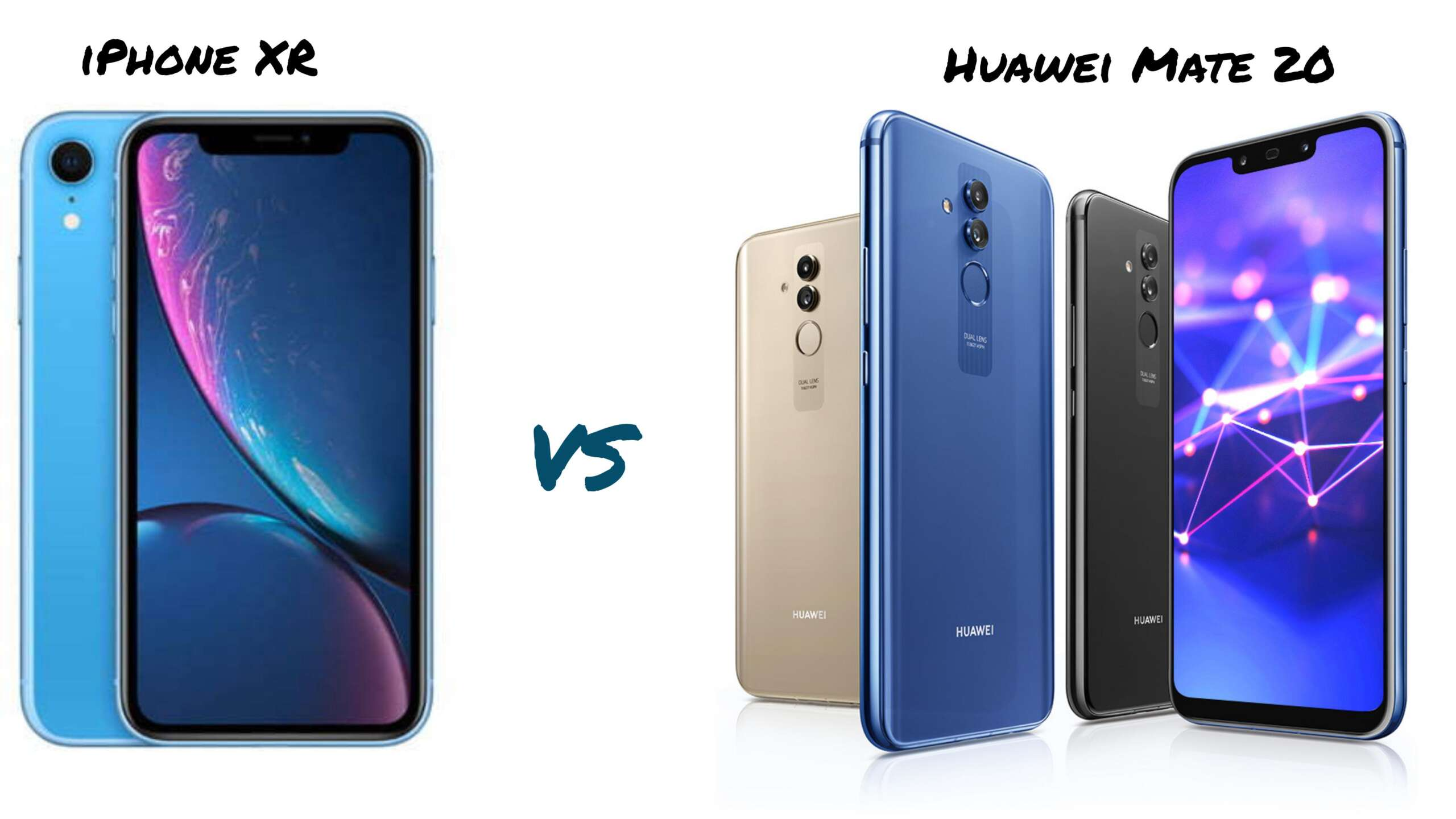 iPhone XR vs Huawei Mate 20