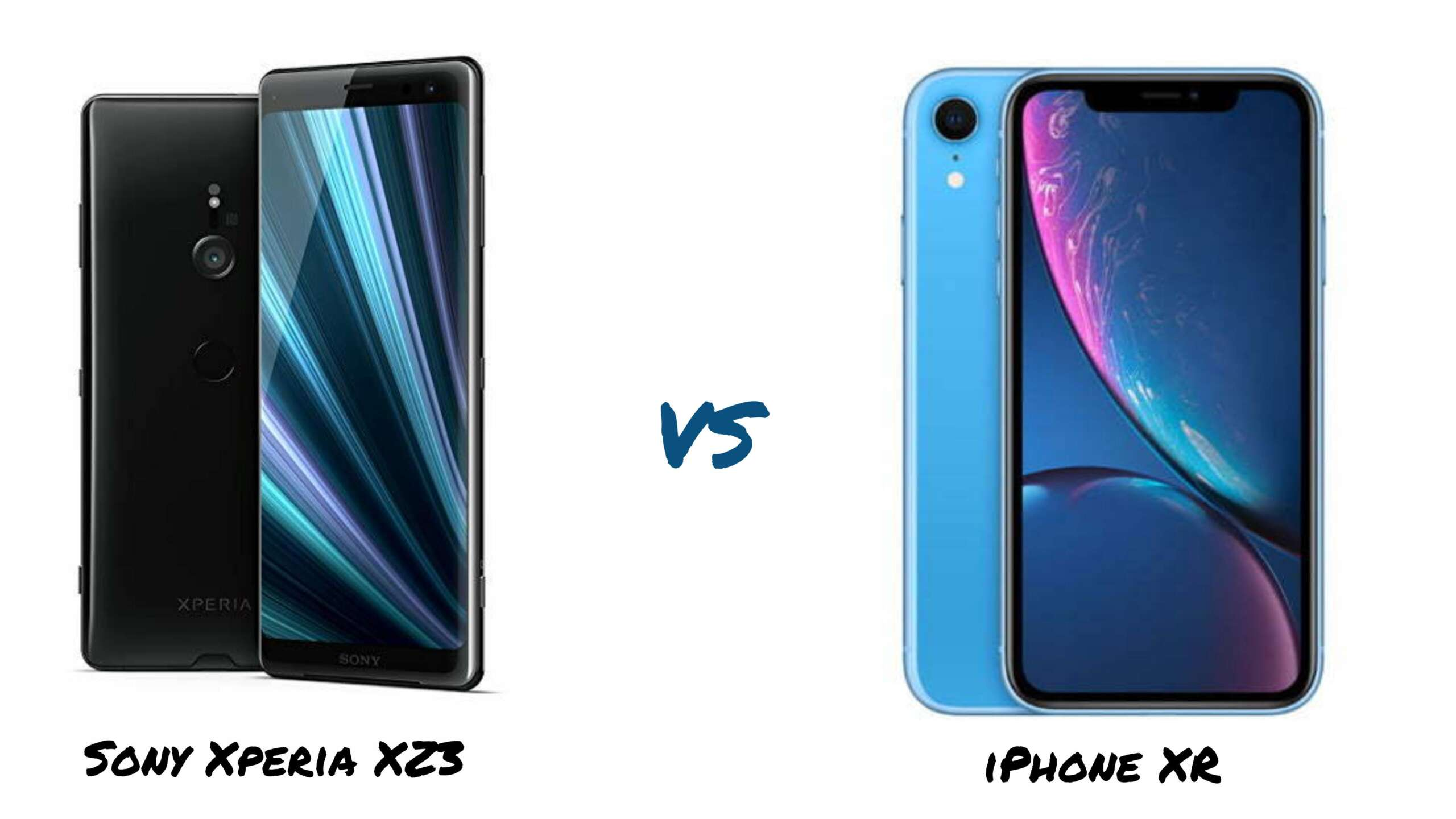Sony Xperia XZ3 vs iPhone XR
