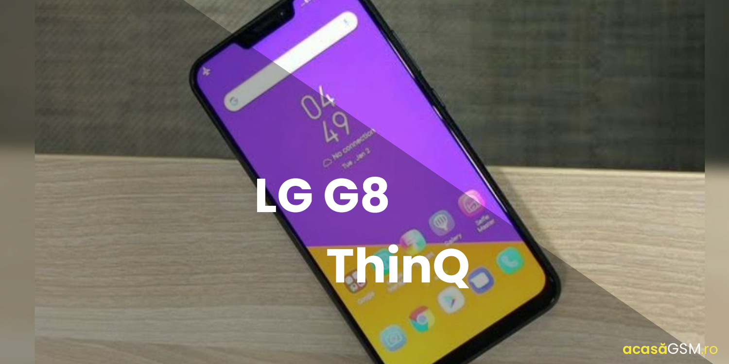LG G8 ThinQ, Specificatii si Design