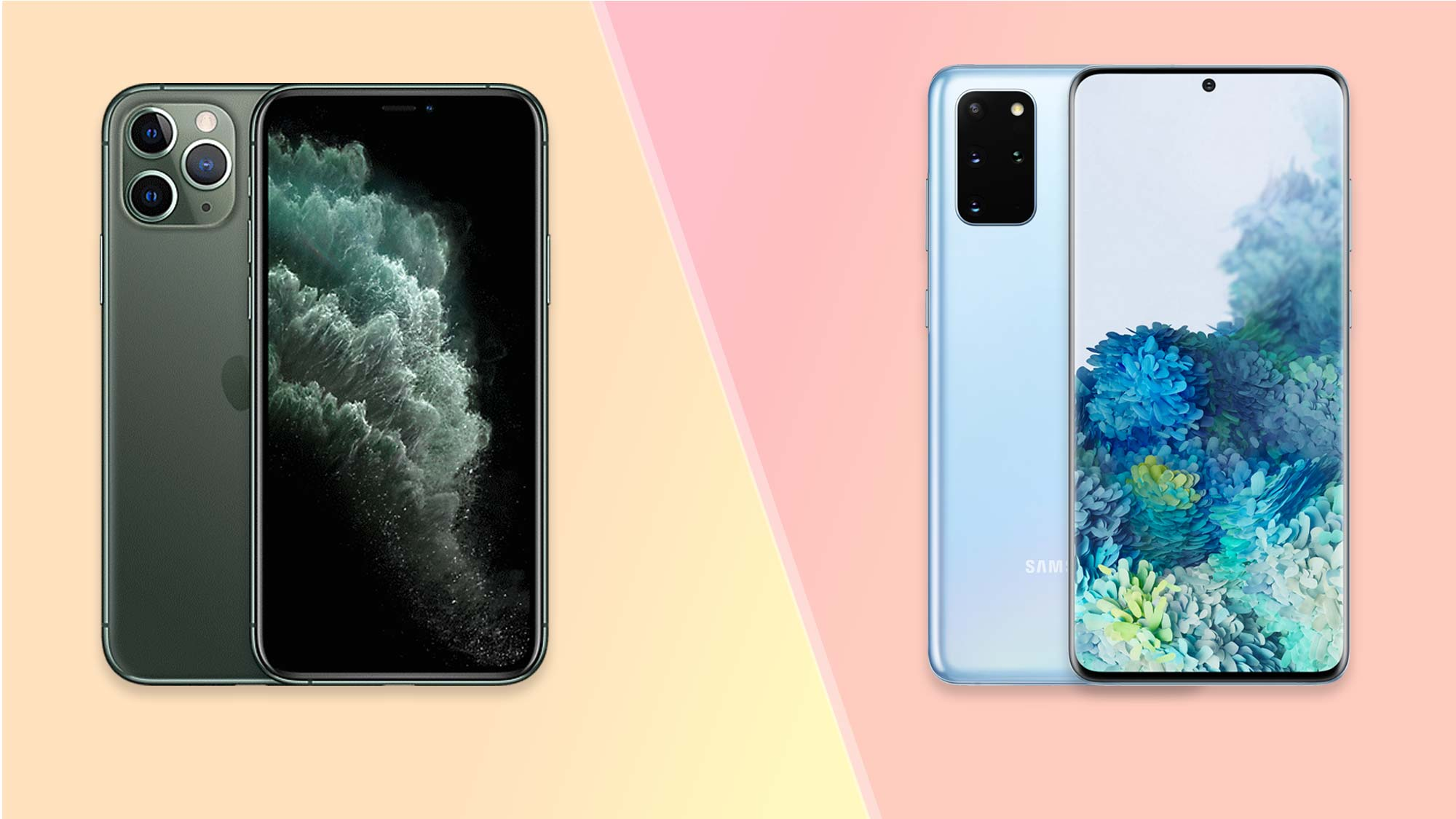Iphone 11 VS Samsung Galaxy S20