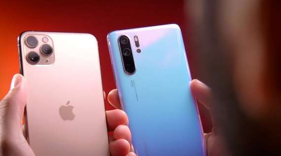 Comparatie intre Iphone 11, Samsung S20 si Huawei P30