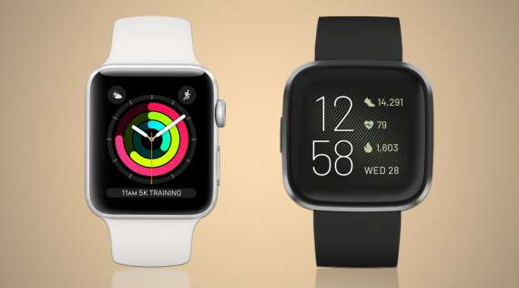Apple Watch 3 VS Fitbit Versa