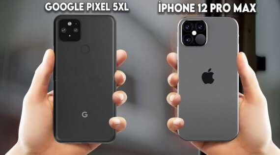 iPhone 12 vs Google Pixel 5
